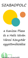 Szabadpolc Poster - for Kanizsa Plaza by wildgica