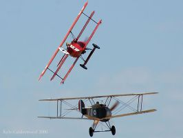 Snoopy and the Red Baron by Photobeast