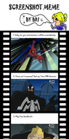 Spectacular spiderman screenshoot meme by toongrowner