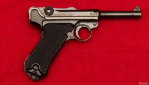 1941 BYF Police Contract *Reverse* Luger by spaxspore