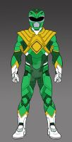 MMPR Green Ranger Concept Complete by monstrous64