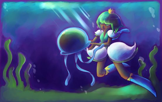 GV: The Underwater Princess by Loverofpiggies