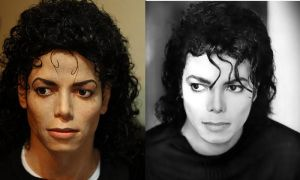 Comparison Michael Jackson Bad bust pic by godaiking
