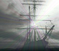 Grey ship pass into the west by Luthien76