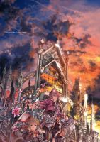 The cathedral guardians by kawacy