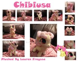 Plush Commission .:Chibiusa:. by lfraysse