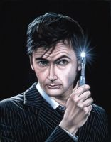 The Tenth Doctor by BruceWhite