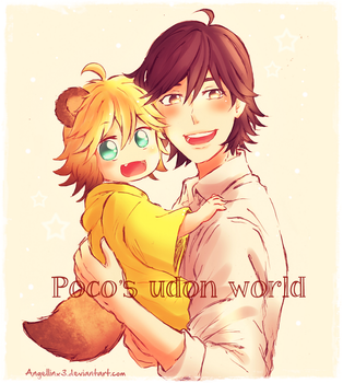 Poco and Souta |Color version by AngelLinx3