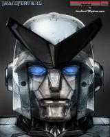 Autobot Ratchet Head Design by timshinn73