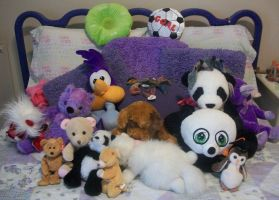 My Stuffed animals by TheCape99