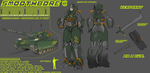 SMOOTHBORE 2015 - Transformers OC [UPDATE] by Shorjok