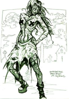 zombimonster by MechaHeretica