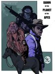 Dawn of the Planet of the Apes by MRPeckham