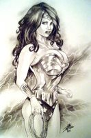 Wonder Woman by David Miller by ConceptsByMiller