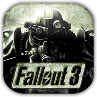 Fallout 3 Game Icon by Wolfangraul