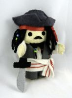 Jack Sparrow doll by deridolls