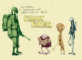 The Fallout Friends by PesthDeLinz