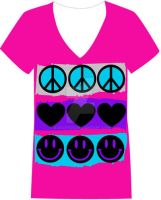 Peace and Love by djace1121