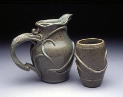 Vine Pitcher and Cup by kamokugaijin