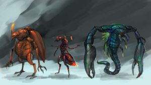 ALIENS- The Insect. by thiennh2
