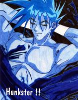 Hunkster Anime Dude by dj-vegan