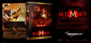 The Mummy 3- Fanmade Dvd Cover by hobo95