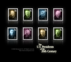 Presidents of the 20th Century by wackypixel