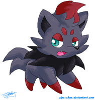 Zorua - MS by Zipo-Chan