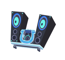 Vinyl Scratch Bass Cannon (HD) by IvaCatheriaNoid