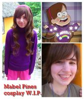 Mabel Pines cosplay WIP by 77Flower77