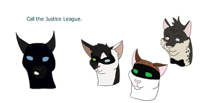 Bat Family by SapphireSquire
