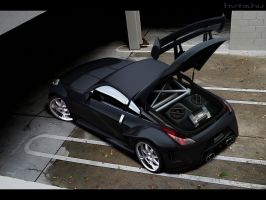 Nissan_350Z by blackdoggdesign