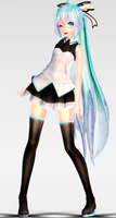 [MMD Newcomer] TDA Miku Costume Arrangement A+DL by Supurreme