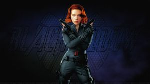Scarlett Johansson Black Widow XXIII by Dave-Daring