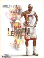LeBron James First NBA Championship by Chillbally