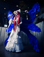 Lilith - Blue Wings by elliria