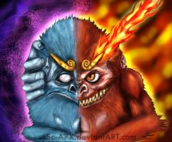 Darmanitan Unleashed by hamsterSKULL