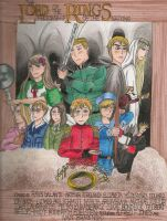APH/LotR - Fellowship of the Nations by Obiwanlives4ever