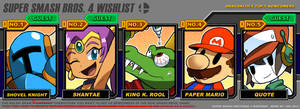 SSB4 Wishlist Meme by Dragonith