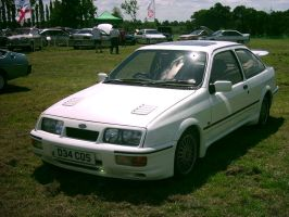 Ford Sierra RS Cosworth by Silverfangwolfy