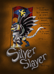 Silver Slayer - Silver Quill Comic Persona by PattiBCreations