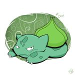 001 - Bulbasaur by steven-andrew
