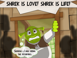 Shrek is Bothered, Shrek is Peeved by UMSAuthorLava