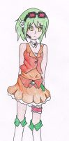 Commission: Vocaloid Gumi Coloured by NikkiandMay