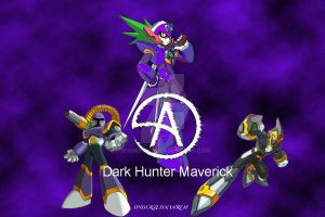 Dark Maverick Hunter by SpiderZed