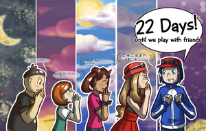 [pkmn] 22 days! by RitsuBel