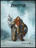 Bruenor by Belegilgalad
