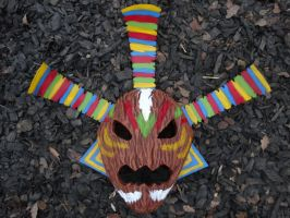 Odolwa Mask by meanlilkitty