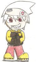 Soul Eater Evans Chibi by coffeerack