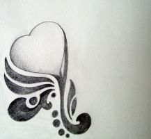 growing love -tattoo design- by skyefeather
